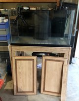 57g rimless reef ready tank, stand, and sump in Westmont, Illinois