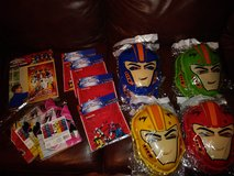 Power Rangers party lot in Spring, Texas