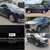 Good Selection of 7 seater vehicles @ Ramstein Military Sales in Stuttgart, GE