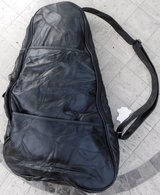 New! Black Leather Backpack / Sling Bag in Joliet, Illinois