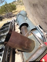 Wood burning insert fireplace  installation kit- used in Yucca Valley, California