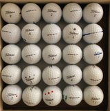 30 Titleist Tour Soft balls near mint condition in Glendale Heights, Illinois