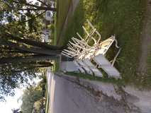 Outdoor tall table set of 4. in Chicago, Illinois