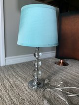 blue table lamp in Kingwood, Texas