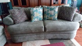 SOFA AND LOVESEAT SET (TEAL) in Camp Lejeune, North Carolina