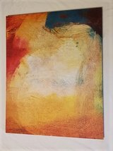 """32"""" x 40"""" Abstract Canvas Art (2 available) in Kingwood, Texas"""
