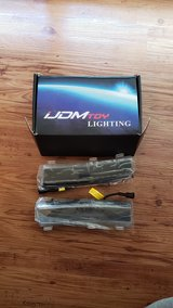 Brand New iJDMTOY Clear Xenon White LED Daytime Running Lights Compatible with 2006-2009 Nissan ... in Okinawa, Japan