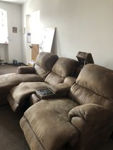 Recliner and massaging sofa used in Grafenwoehr, GE