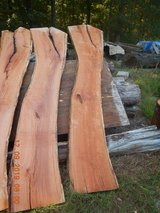 Cherry live edge crotch slabs in Fort Campbell, Kentucky