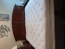King mattress,box spring n headboard in Baytown, Texas