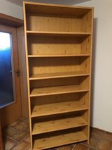 Bookcase with adjustable shelving (2) in Grafenwoehr, GE
