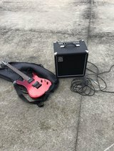 Vendetta guitar and amp in Camp Lejeune, North Carolina
