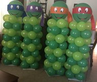 Ninja turtle balloon columns & More in Baytown, Texas