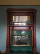 Fire Place Mantle with Mirror in Fort Campbell, Kentucky