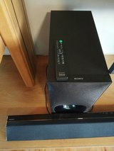Sound bar + wireless subwoofer Sony in Ramstein, Germany