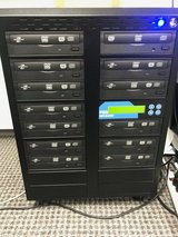 PRODUPLICATOR -12 Disc Lightscribe DVD/CD Duplicator Paid $1248.00 in Oswego, Illinois
