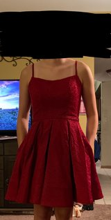 Homecoming dress red sparkle in Chicago, Illinois