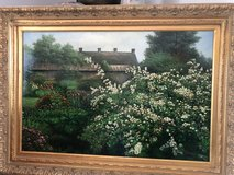Cottage and Floral painting in Glendale Heights, Illinois