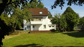 Speicher/City: Freestanding lovely house on a large fenced property with nice garden in Spangdahlem, Germany