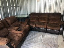 Couch set in Moody AFB, Georgia
