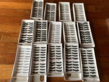 140 Pairs False eyelashes assorted styles in Okinawa, Japan