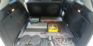 Complete Car Audio System in Stuttgart, GE