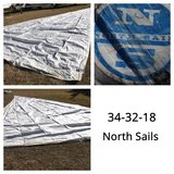 Assorted Sails in Cherry Point, North Carolina