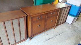 Fisher, Kenwood, Dual, Allied, Realistic Vintage Stereo Console Set in Joliet, Illinois