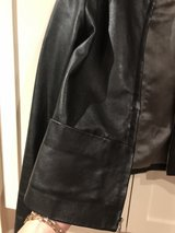 black leather jacket size M in Conroe, Texas