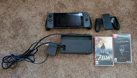 Nintendo Switch With Zelda And Skyrim in Moody AFB, Georgia