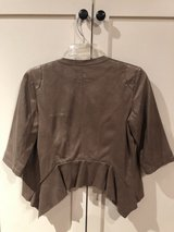 golden leather jacket size S in Conroe, Texas