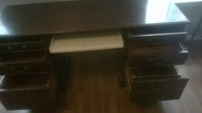 Old Antique six drawer desk in Beaufort, South Carolina