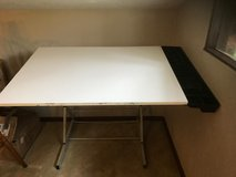 Adjustible Drafting Table with attached Organizer in Joliet, Illinois