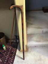 Custom Made walking cane, exotic woods in Oswego, Illinois