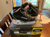 Bauer Supreme s160 hockey skates size/4.0 , shoe size US 5.0 in Naperville, Illinois