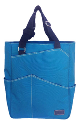 Maggie Mather Tennis Tote, Travel Tote New Zipper Closure by Maggie Mather in Naperville, Illinois
