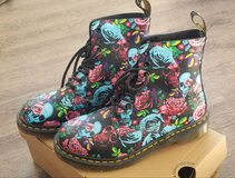 Doc Marten boots in Yucca Valley, California