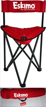New! Eskimo Folding Ice Fishing Chair + Carry Case in Chicago, Illinois