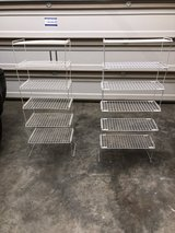 Stackable shelves in Fort Campbell, Kentucky