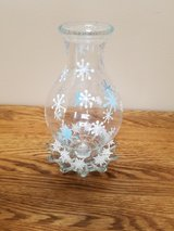 Snowflake taper candle holder in Naperville, Illinois