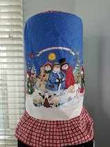 Christmas 5 gallon cooler cover in Naperville, Illinois