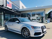 *ACT NOW* 2016 Audi S3 Quattro With Perf. Package *ACT NOW* in Spangdahlem, Germany