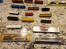 all kinds of n scale train equipment cars, loco's people, buildings, barns, houses, businesses,etc in Beaufort, South Carolina