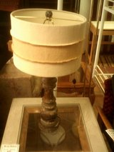 Wood lamp in Alamogordo, New Mexico