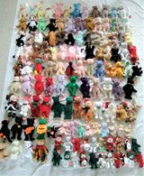 Lot of 120+ Beanie Babies - Almost All Have Tags - VG to Excellent Condition in Joliet, Illinois