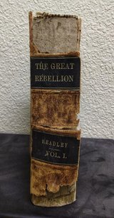 HISTORY OF THE GREAT REBELLION VOLUME 1 in Alamogordo, New Mexico