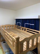 Japanese Solid wood Twin Bed in Okinawa, Japan