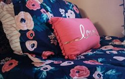 Twin Floral Comforter and Sheets Set in Kingwood, Texas