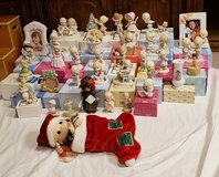 Precious moments collection in Fort Riley, Kansas