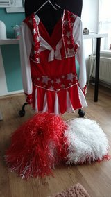 Cheerleader Costume for Fasching or Halloween in Wiesbaden, GE